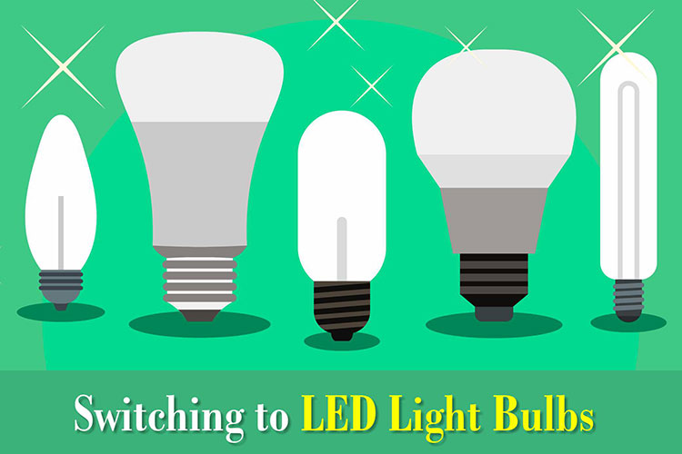 Switching to LED Light Bulbs